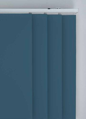 Panel Blinds Splash Sapphire Blue