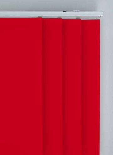 Panel Blinds Splash Scarlet Red