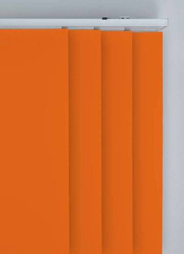 Panel Blinds Splash Tango Orange