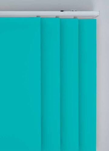Panel Blinds Splash Turquoise Blue
