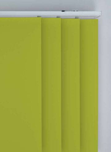 Panel Blinds Splash Vine Green
