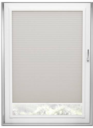 Perfect Fit Pleated Blinds Cellular Almond