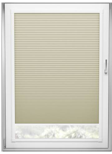 Perfect Fit Pleated Blinds Cellular Blackout Taupe