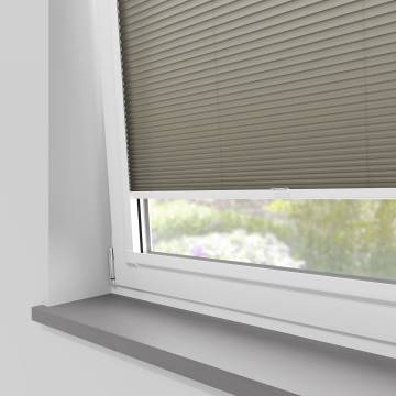 Perfect Fit Pleated Blinds Cellular Concrete