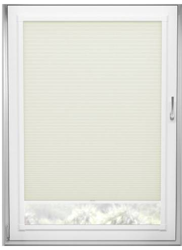 Perfect Fit Pleated Blinds Cellular Ivory
