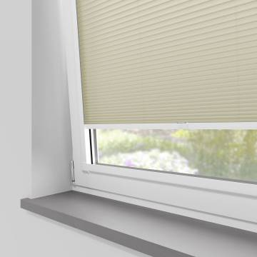 Perfect Fit Pleated Blinds Cellular Taupe