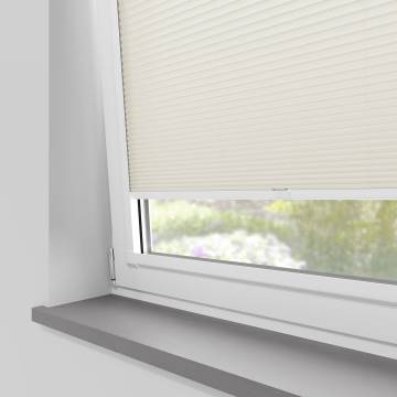 Perfect Fit Pleated Blinds Cellular Warm White