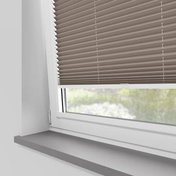 Perfect Fit Pleated Blinds Chateau Blackout Hazelnut