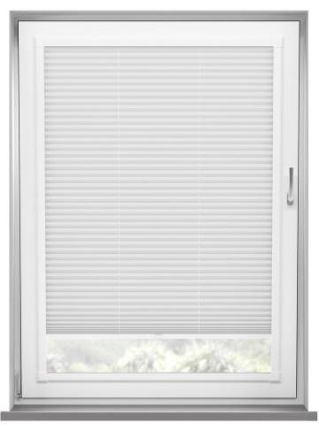 Perfect Fit Pleated Blinds Chateau Blockout White