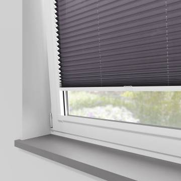 Perfect Fit Pleated Blinds Kana Amethyst
