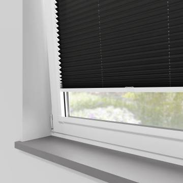 Perfect Fit Pleated Blinds Kana Black