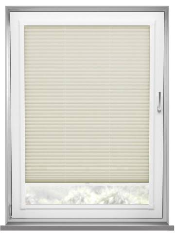Perfect Fit Pleated Blinds Kana Cream