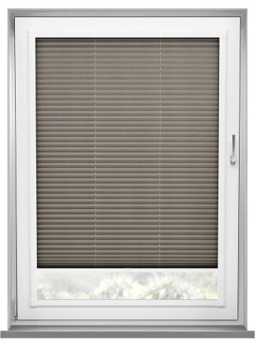 Perfect Fit Pleated Blinds Kana Hazelnut Latte