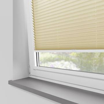 Perfect Fit Pleated Blinds Kana Light Gold
