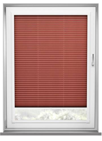 Perfect Fit Pleated Blinds Kana Merlot Red