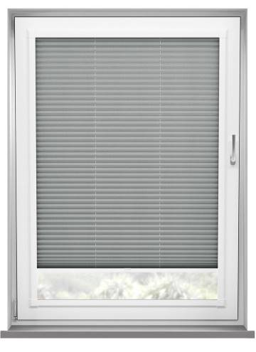 Perfect Fit Pleated Blinds Kana Mid Grey