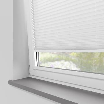 Perfect Fit Pleated Blinds Kana Perla White