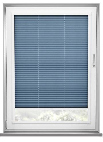 Perfect Fit Pleated Blinds Kana Sky Blue