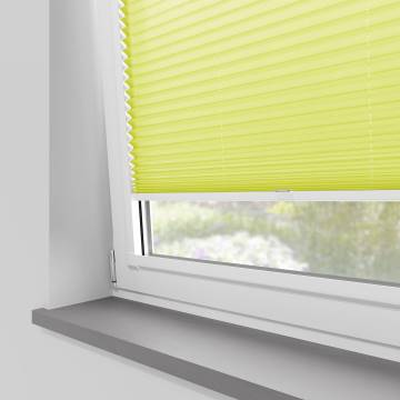 Perfect Fit Pleated Blinds Kana Sunkiss Yellow