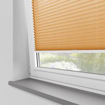 Perfect Fit Pleated Blinds Kana Terracotta