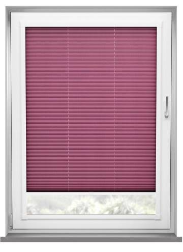 Perfect Fit Pleated Blinds Kana Wine