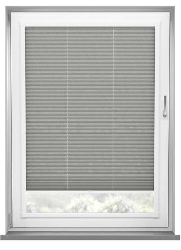 Perfect Fit Pleated Blinds Mirabella Solar Crush Concrete Grey