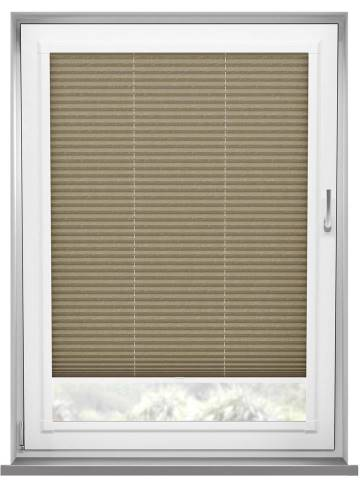Perfect Fit Pleated Blinds Mirabella Solar Crush Espresso