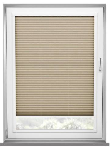 Perfect Fit Pleated Blinds Mirabella Solar Crush Flax