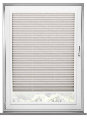 Perfect Fit Pleated Blinds Mirabella Solar Crush Ivory White