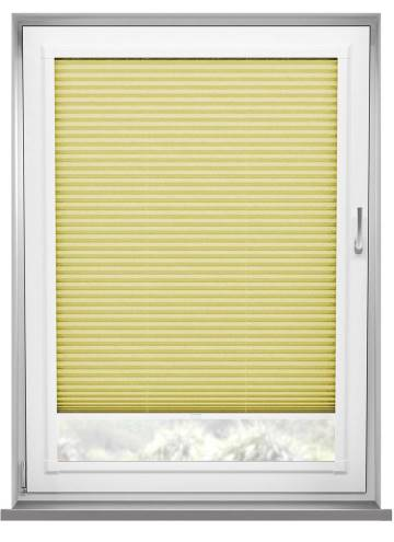 Perfect Fit Pleated Blinds Mirabella Solar Crush Lemon