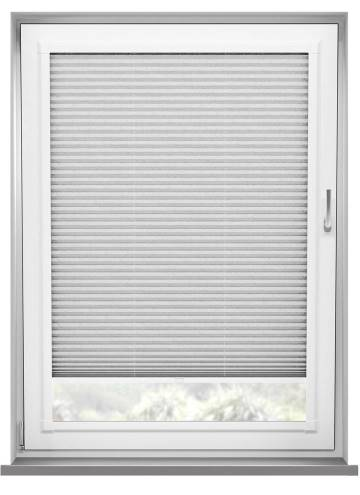 Perfect Fit Pleated Blinds Mirabella Solar Crush Marble White