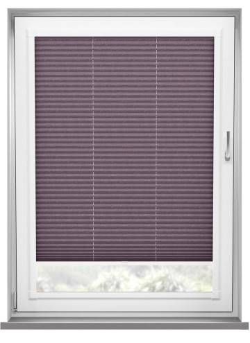 Perfect Fit Pleated Blinds Mirabella Solar Crush Plum