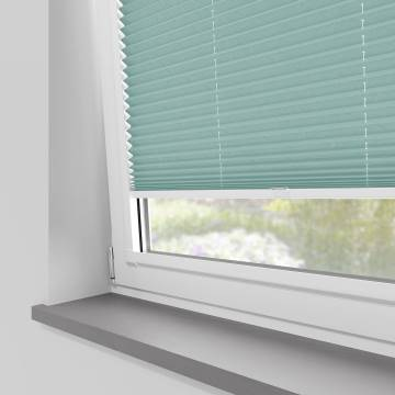 Perfect Fit Pleated Blinds Mirabella Solar Crush River Blue