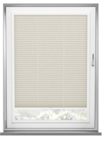 Perfect Fit Pleated Blinds Mirabella Solar Crush Warm Cream