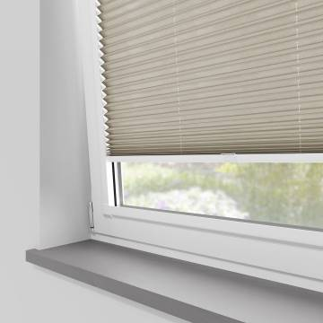 Perfect Fit Pleated Blinds Sylvan Linen Beige