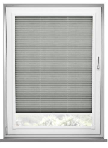 Perfect Fit Pleated Blinds Sylvan Linen Grey