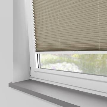 Perfect Fit Pleated Blinds Sylvan Linen Natural