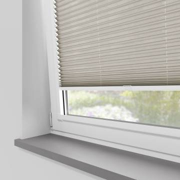 Perfect Fit Pleated Blinds Sylvan Linen Stone