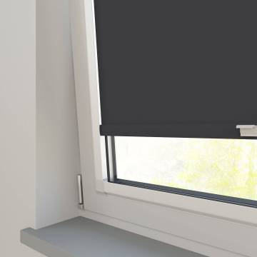 Perfect Fit Roller Blinds Oslo Blackout Black