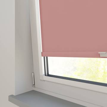 Perfect Fit Roller Blinds Oslo Blackout Blush Pink