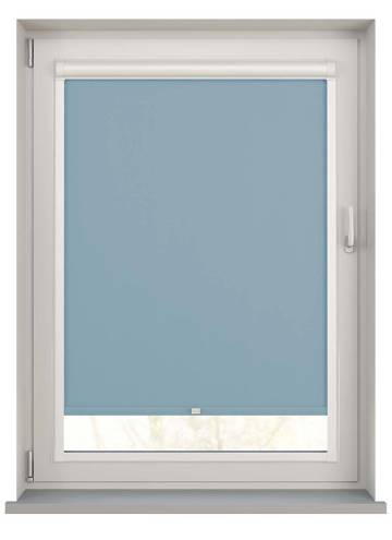 Perfect Fit Roller Blinds Oslo Blackout Brittany Blue