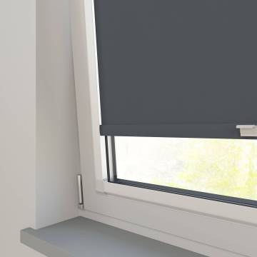 Perfect Fit Roller Blinds Oslo Blackout Dark Grey