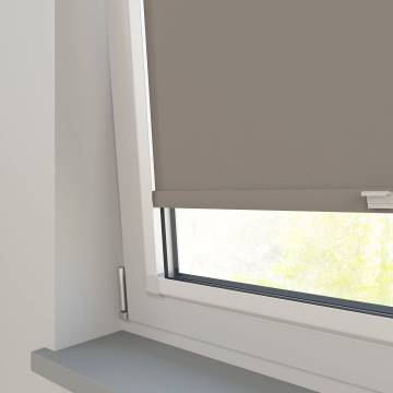 Perfect Fit Roller Blinds Oslo Blackout Latte Brown