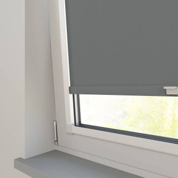 Perfect Fit Roller Blinds Oslo Blackout Rock Grey