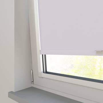 Perfect Fit Roller Blinds Oslo Blackout Snow White