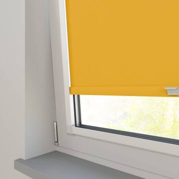 Perfect Fit Roller Blinds Oslo Blackout Solar Yellow
