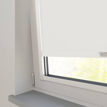 Perfect Fit Roller Blinds Prime Blackout FR White