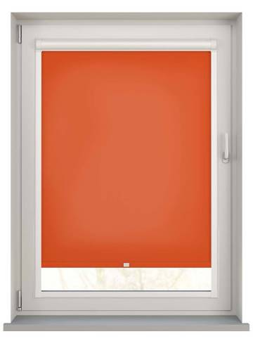 Perfect Fit Roller Blinds Stockholm Bright Orange
