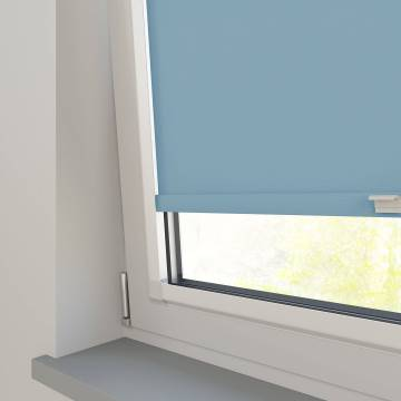 Perfect Fit Roller Blinds Stockholm Brittany Blue