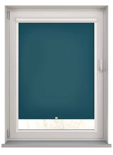 Perfect Fit Roller Blinds Stockholm Dark Teal Blue